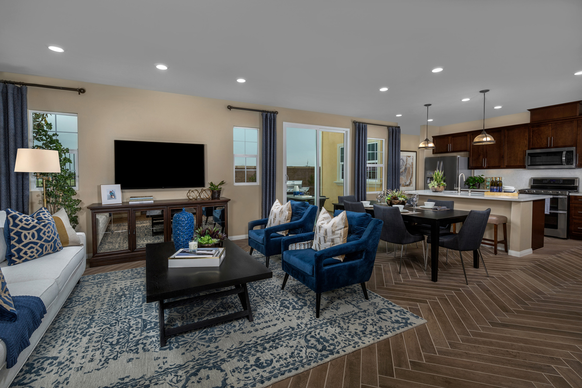 New Homes in Chino, CA - Turnleaf Residence 2098 - Great Room