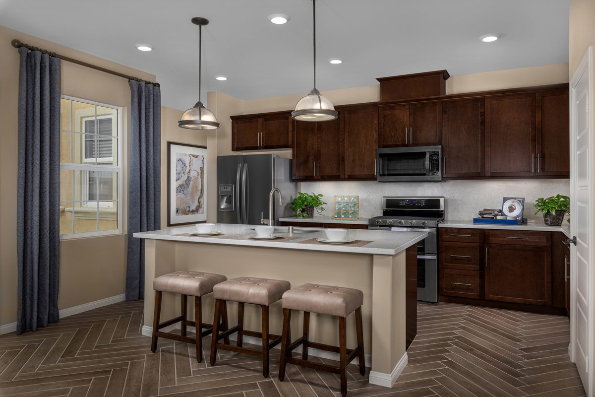 New Homes in Chino, CA - Turnleaf Residence 2098 - Kitchen
