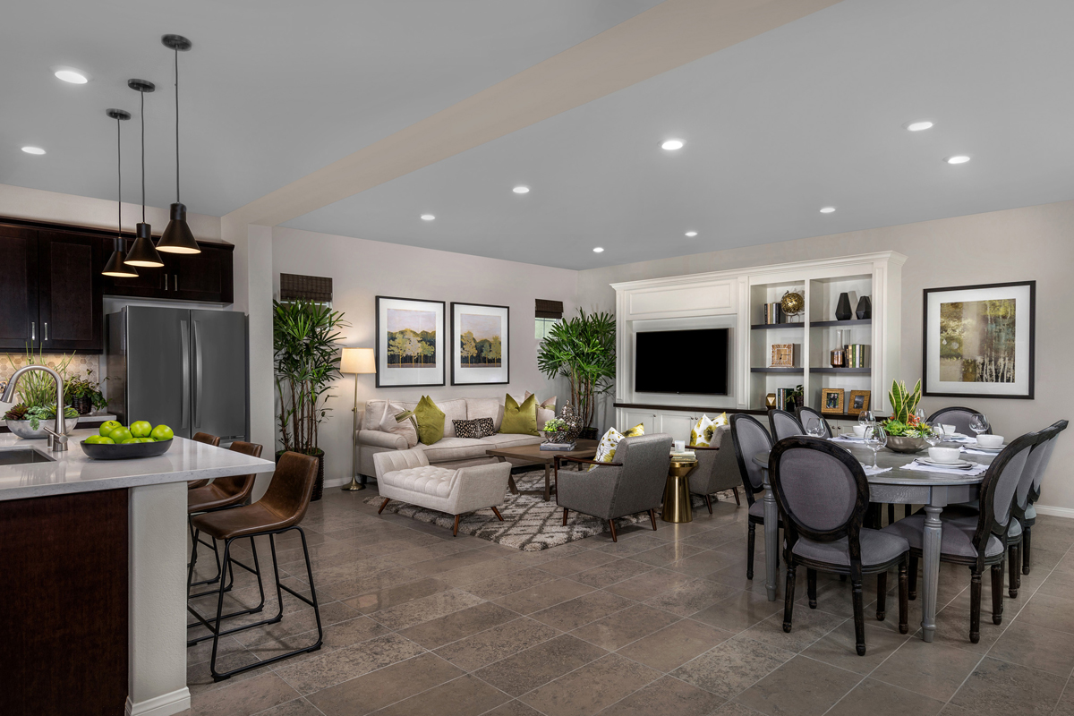 New Homes in Chino, CA - Turnleaf Residence 2464 - Great Room