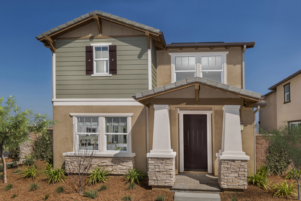 New Homes in Chino, CA - Turnleaf Residence 1626 Elevation C