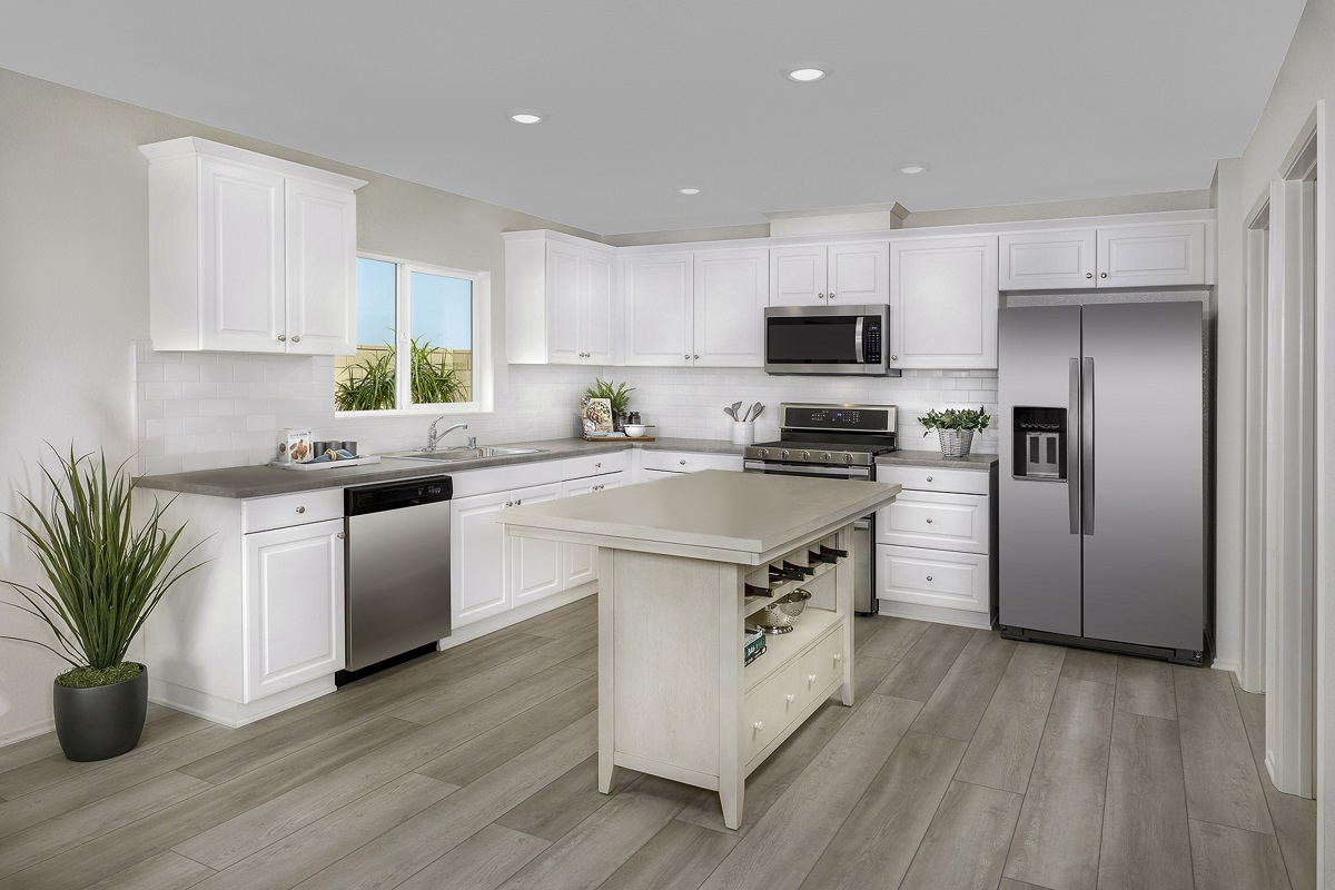 New Homes in Victorville, CA - Whispering Creek Plan 1779 - Kitchen