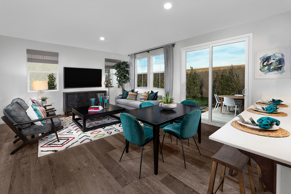 New Homes in Sacramento, CA - Bridgewater Plan 1885 - Great Room