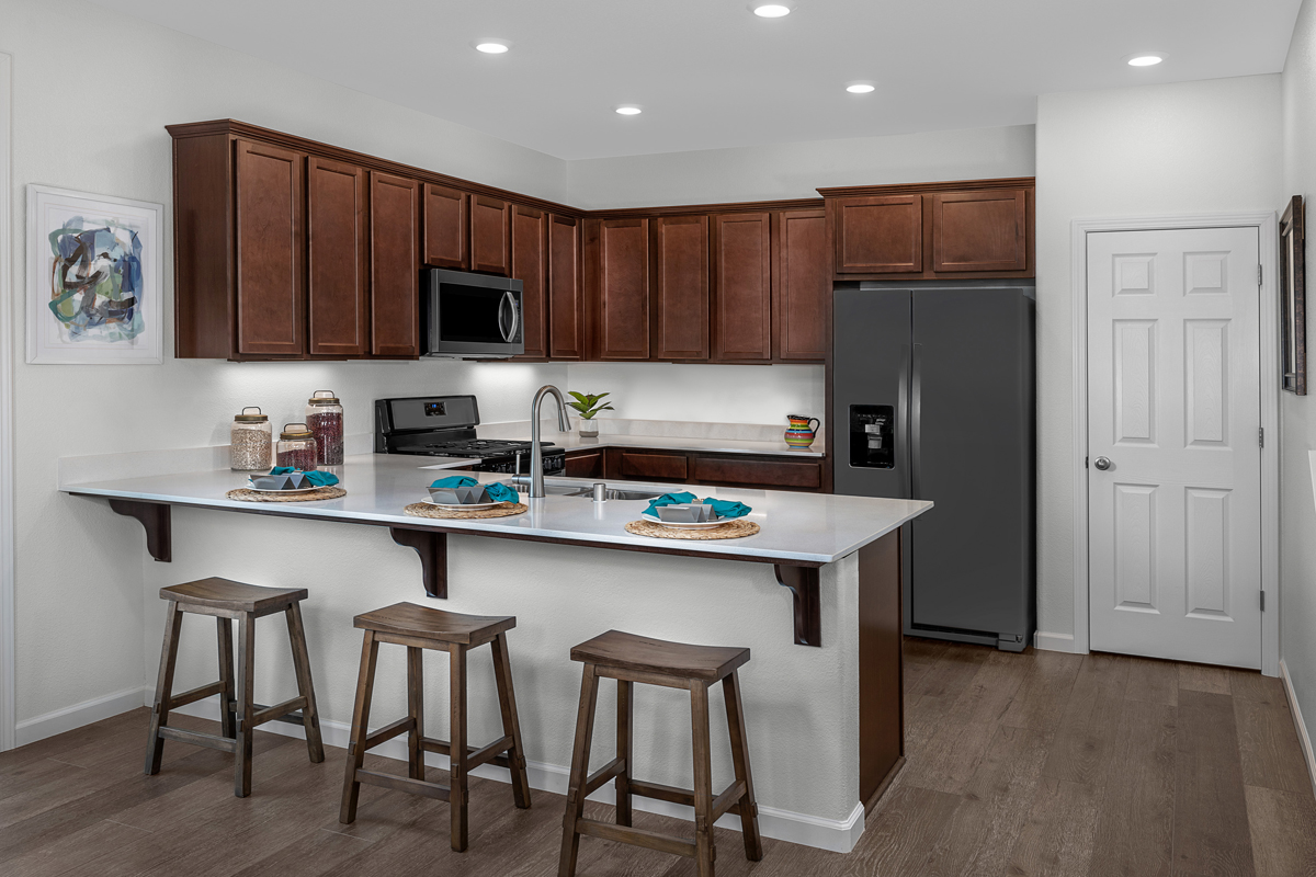 New Homes in Sacramento, CA - Bridgewater Plan 1885 - Kitchen