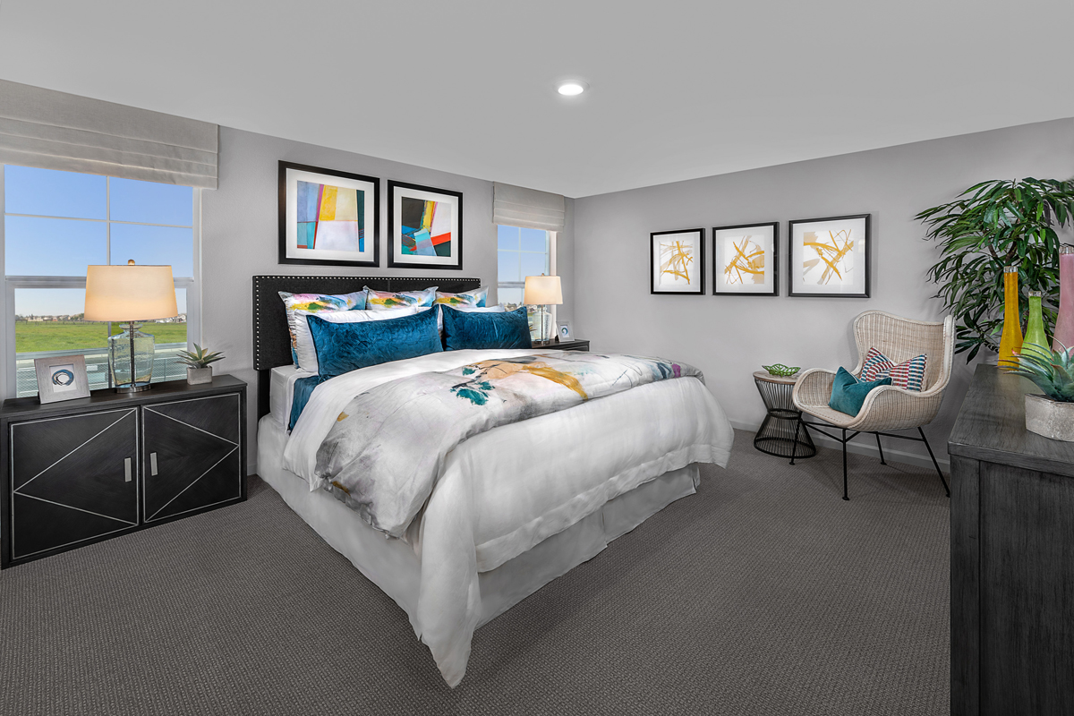 New Homes in Sacramento, CA - Bridgewater Plan 1885 - Master Bedroom
