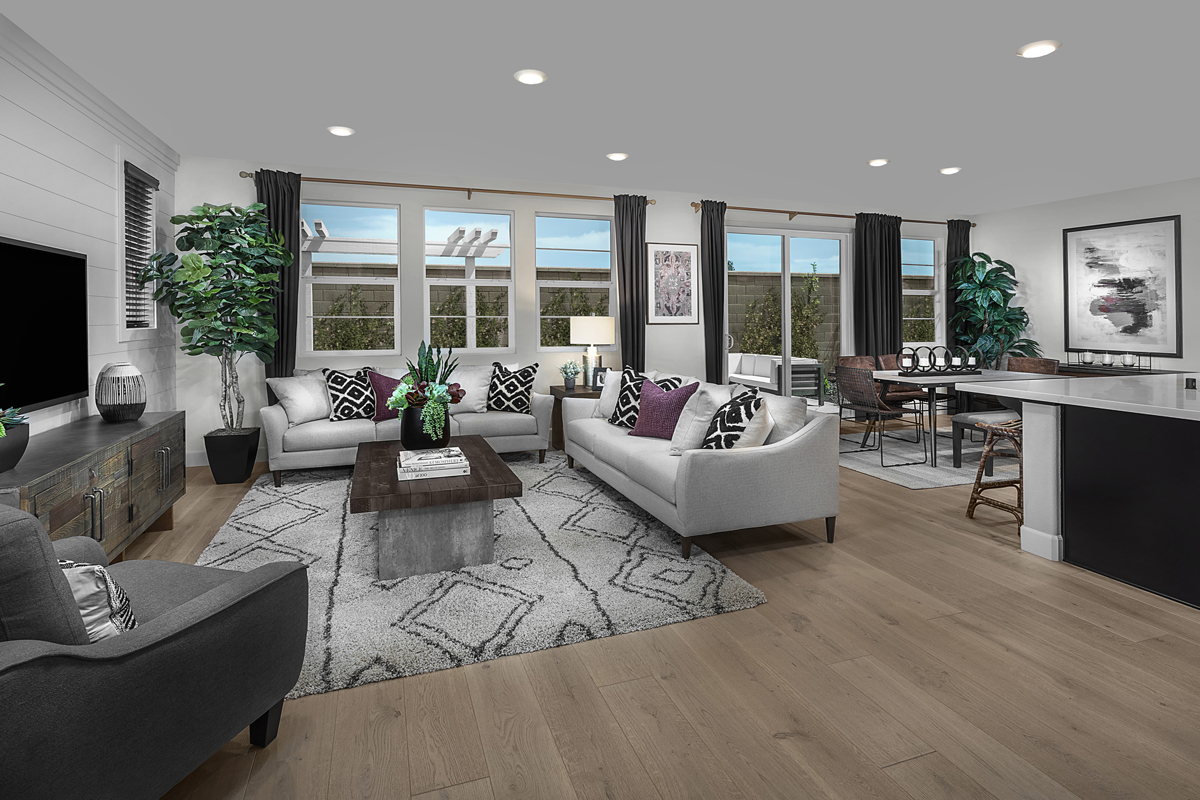 New Homes in Sacramento, CA - Bridgewater Plan 2057 - Great Room
