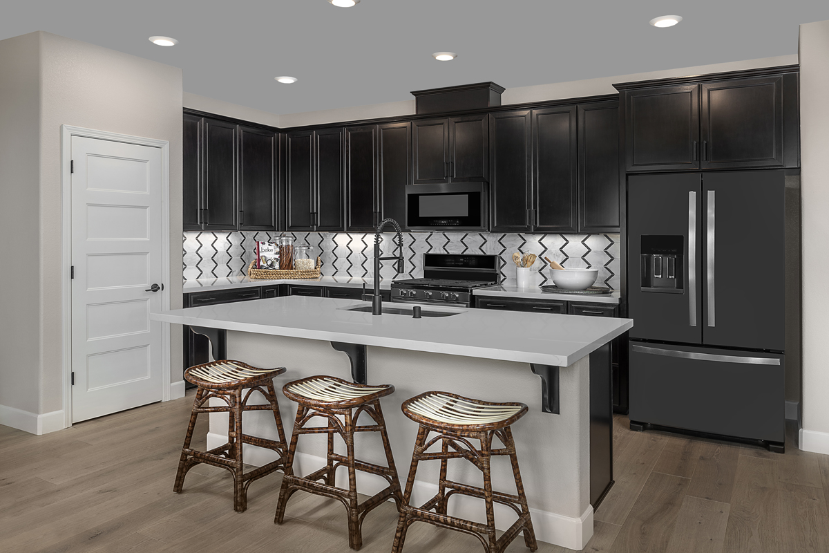 New Homes in Sacramento, CA - Bridgewater Plan 2057 - Kitchen