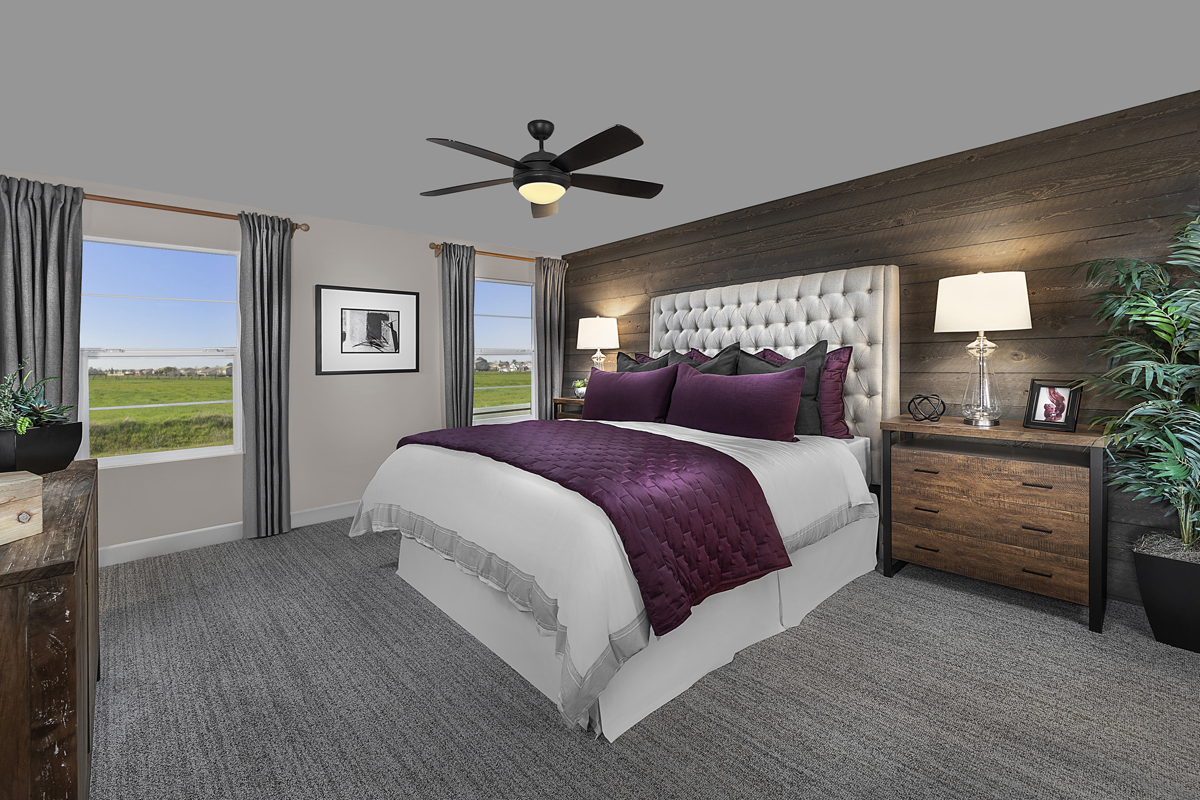 New Homes in Sacramento, CA - Bridgewater Plan 2057 - Master Room