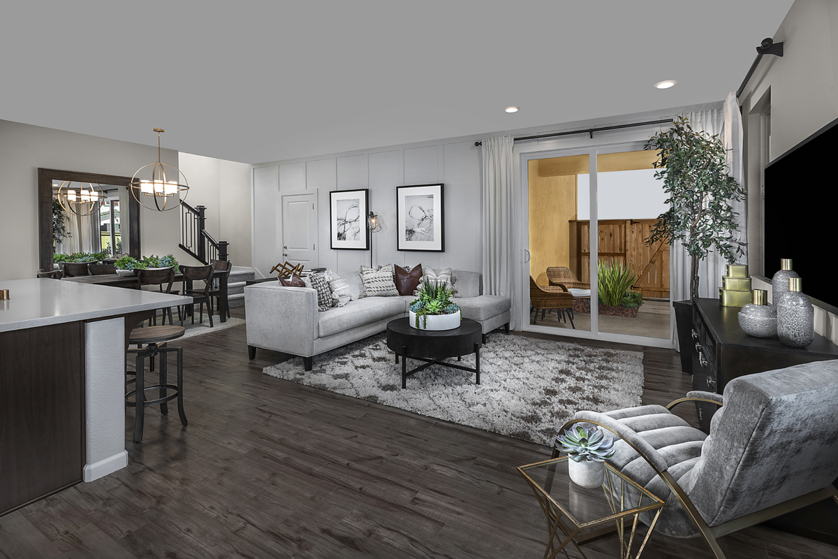 New Homes in Sacramento, CA - Bridgewater Plan 2334 - Great Room