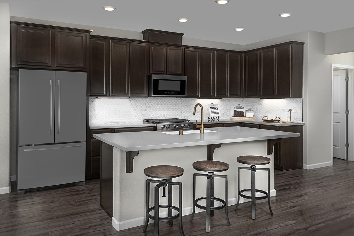 New Homes in Sacramento, CA - Bridgewater Plan 2334 - Kitchen