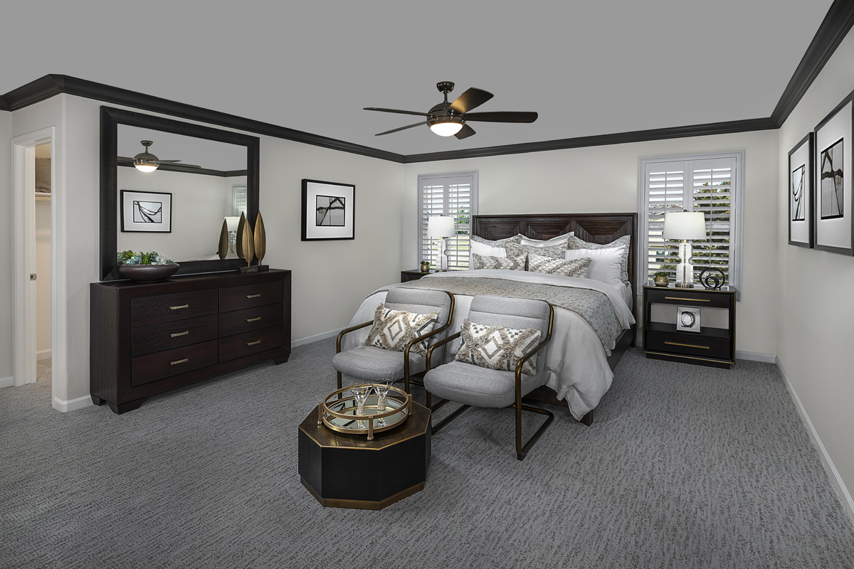New Homes in Sacramento, CA - Bridgewater Plan 2334 - Master Bedroom