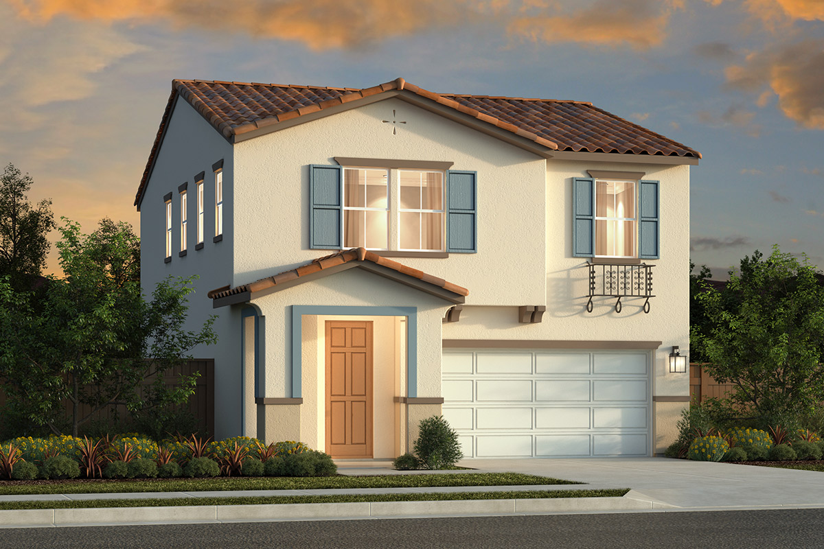 New Homes in Sacramento, CA - Bridgewater Plan 1636 Elevation B