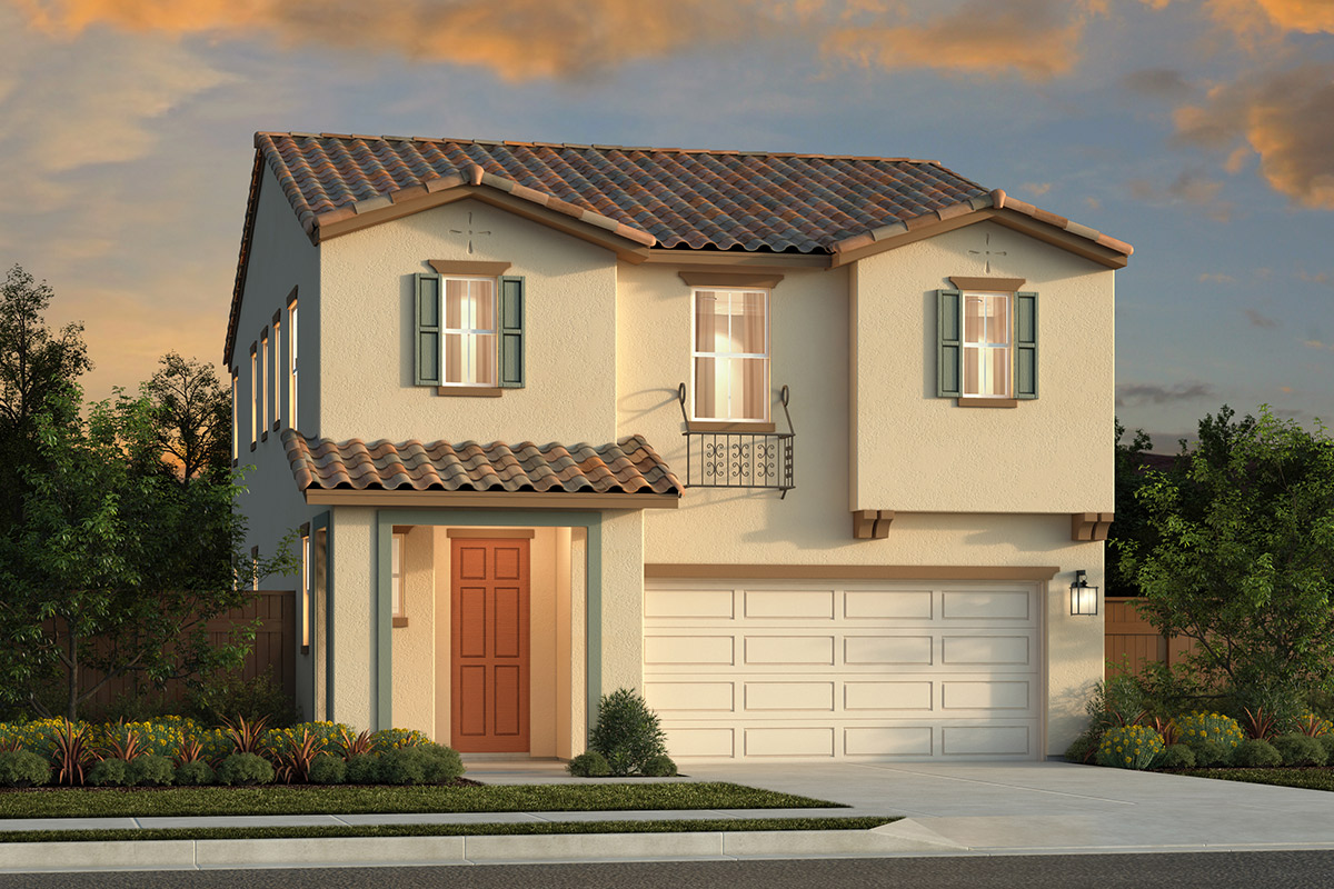 New Homes in Sacramento, CA - Bridgewater Plan 2057 Elevation B