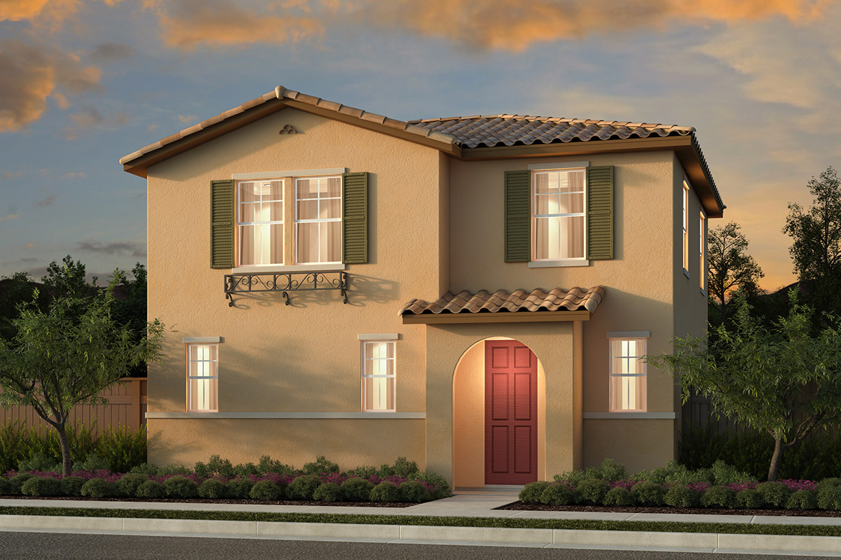 New Homes in Sacramento, CA - Bridgewater Plan 2140 Elevation A