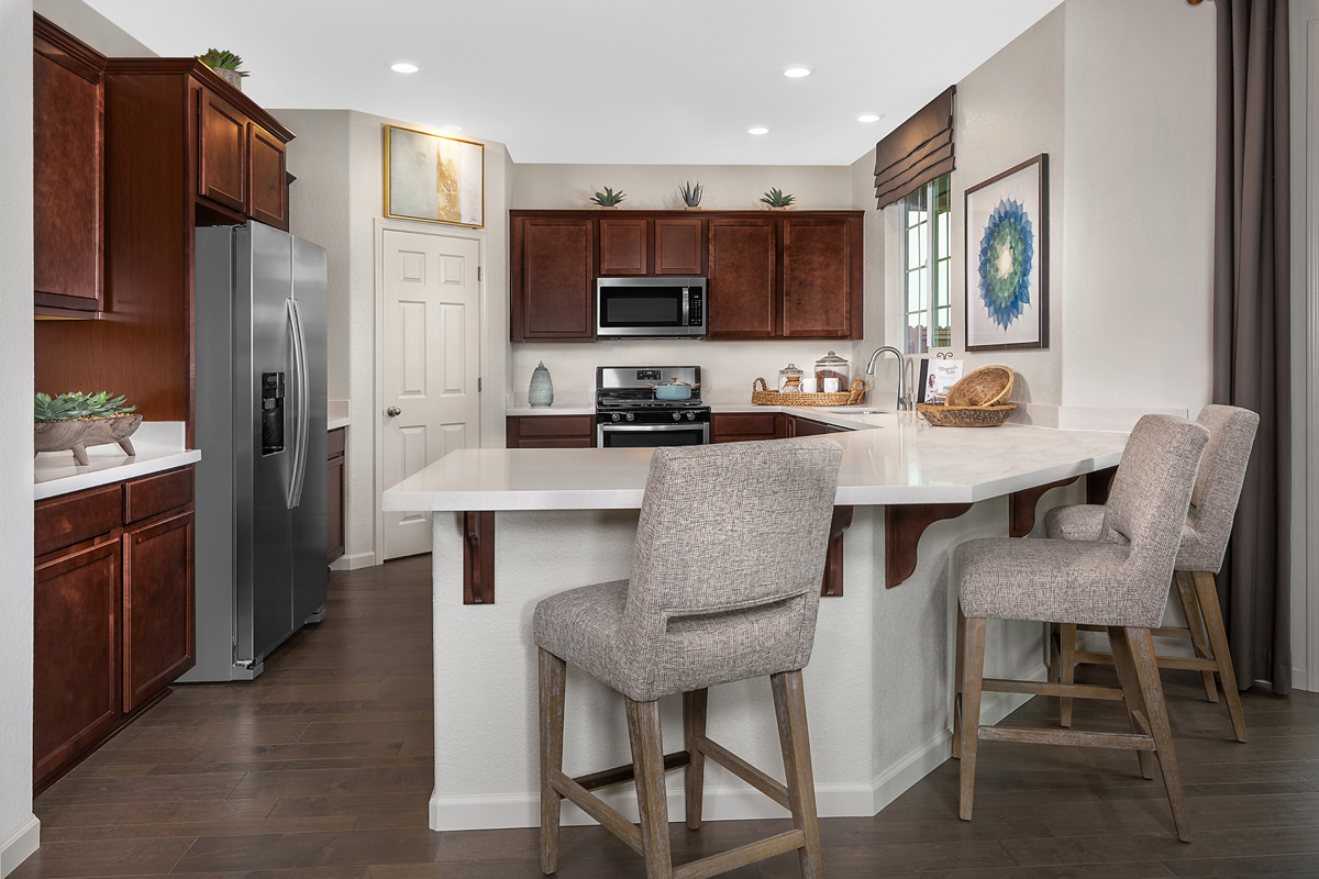 New Homes in Roseville, CA - Cadence at WestPark Plan 2487 Kitchen