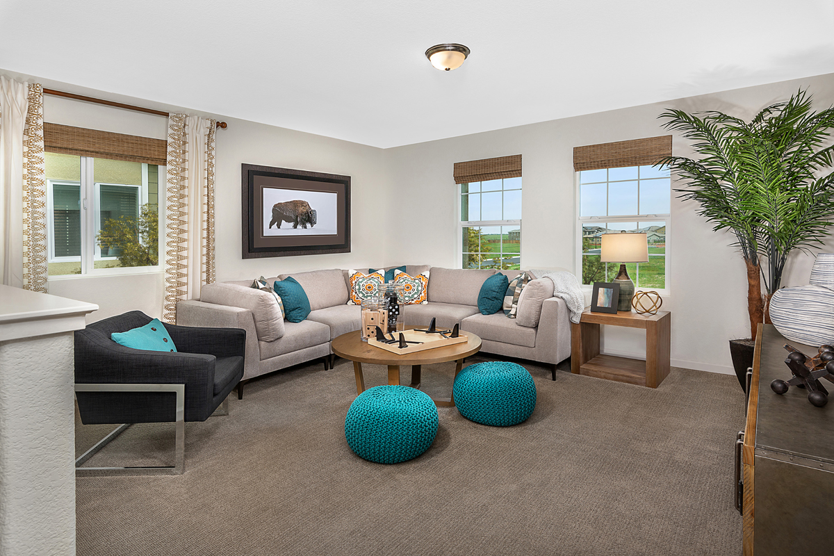 New Homes in Roseville, CA - Cadence at WestPark Plan 2487 Loft