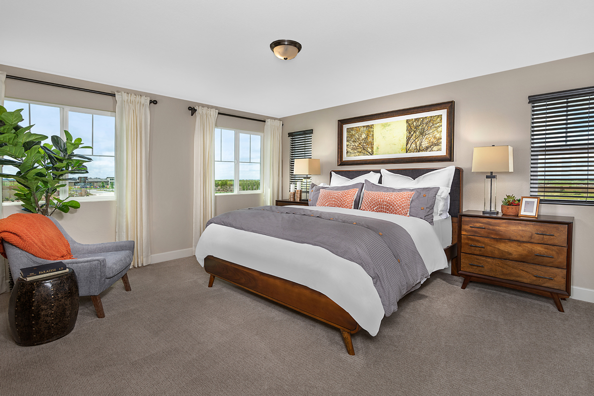 New Homes in Roseville, CA - Cadence at WestPark Plan 2620 Master Bedroom