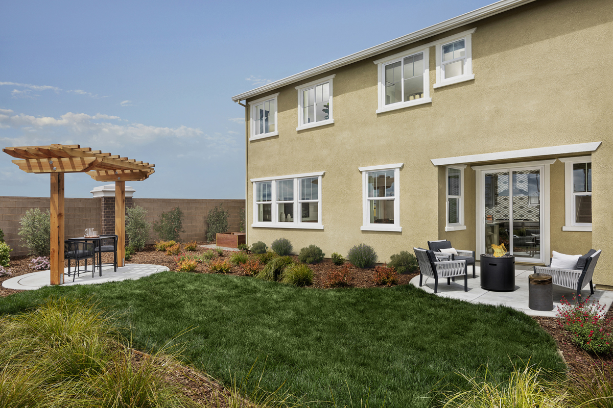New Homes in Roseville, CA - Cadence at WestPark Plan 2620 Patio