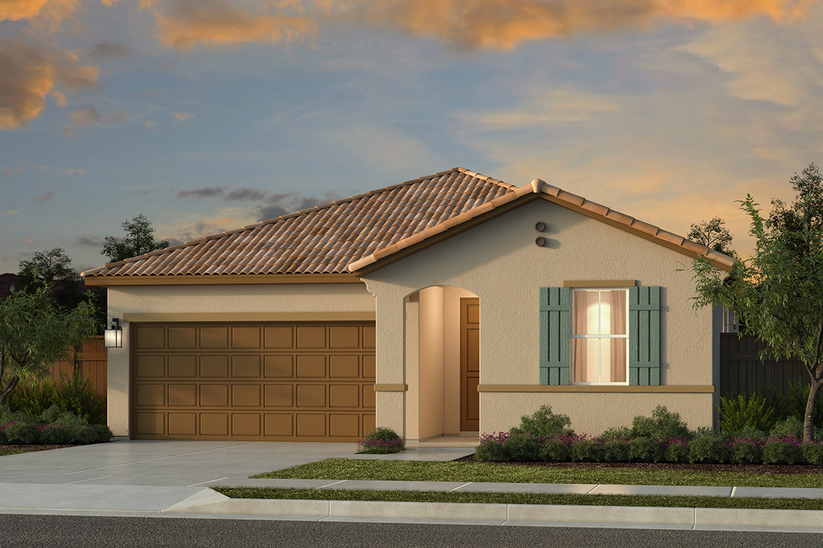 New Homes in Roseville, CA - Plan 1654 - Spanish Elevation (A)