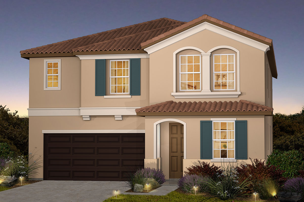 New Homes in Roseville, CA - Plan 2487 - Italianate Elevation (C)