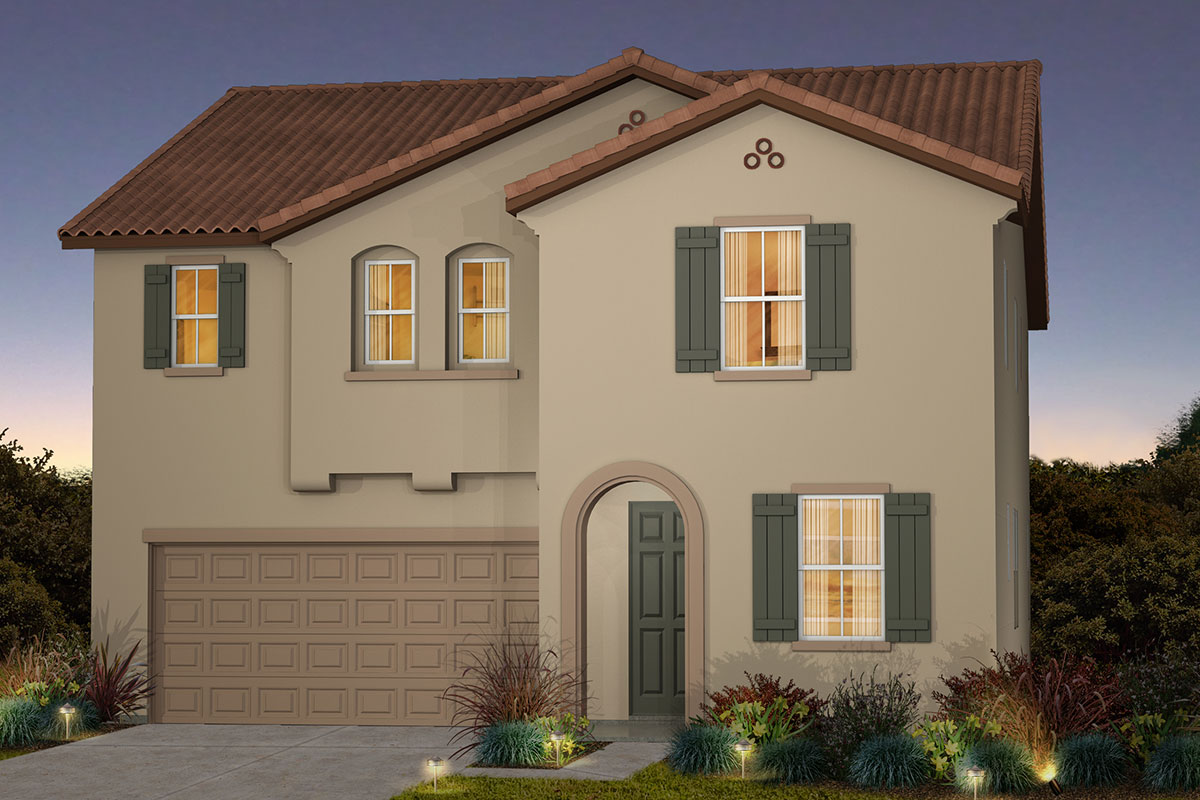New Homes in Roseville, CA - Cadence at WestPark Plan 2620 A