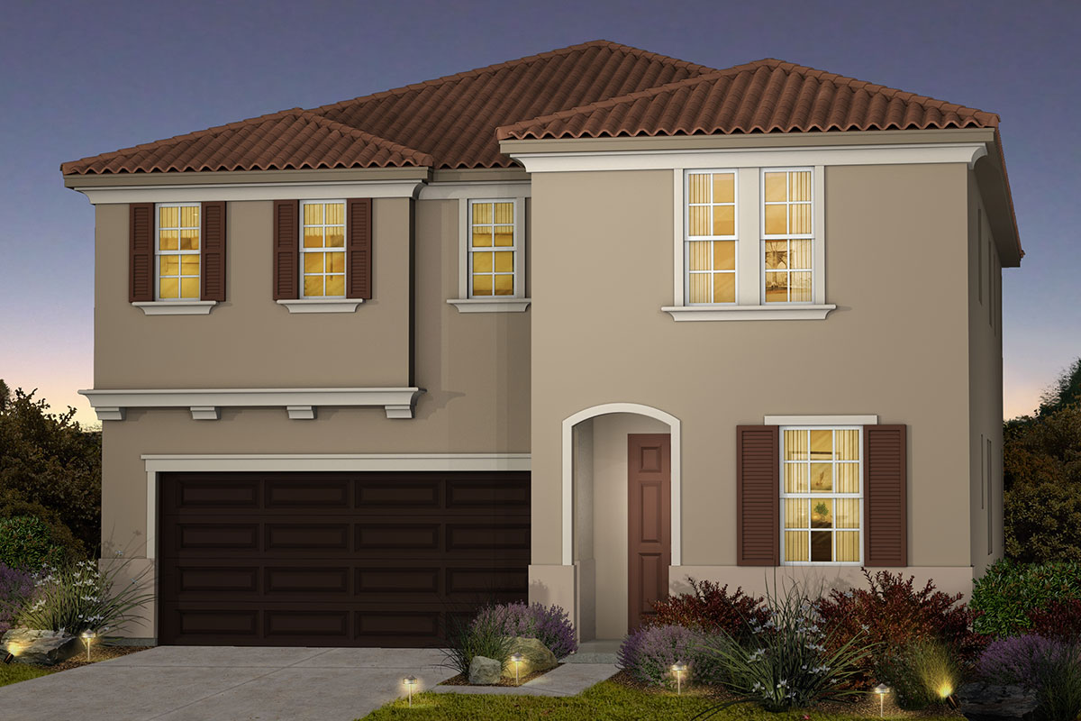 New Homes in Roseville, CA - Cadence at WestPark Plan 2620 C