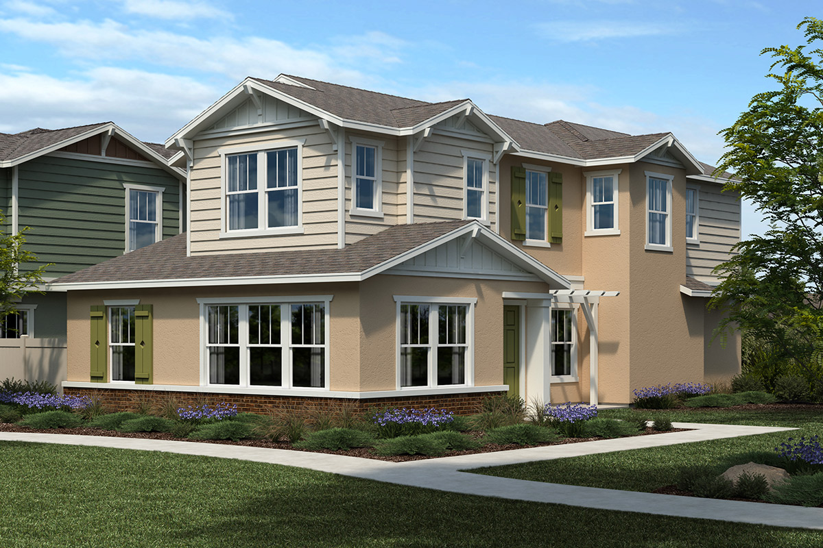 New Homes in Citrus Heights, CA - Canyon at Mitchell Village Plan 1789 Elevation B