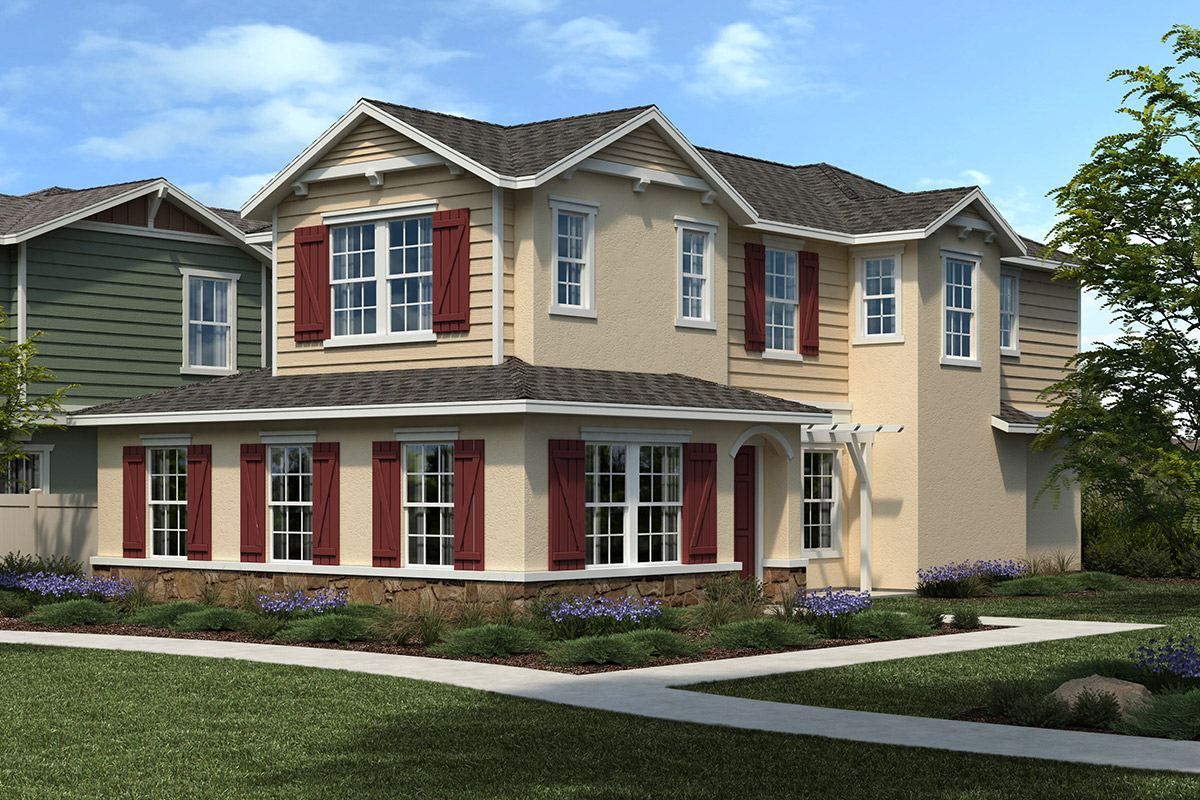 New Homes in Citrus Heights, CA - Elevation D