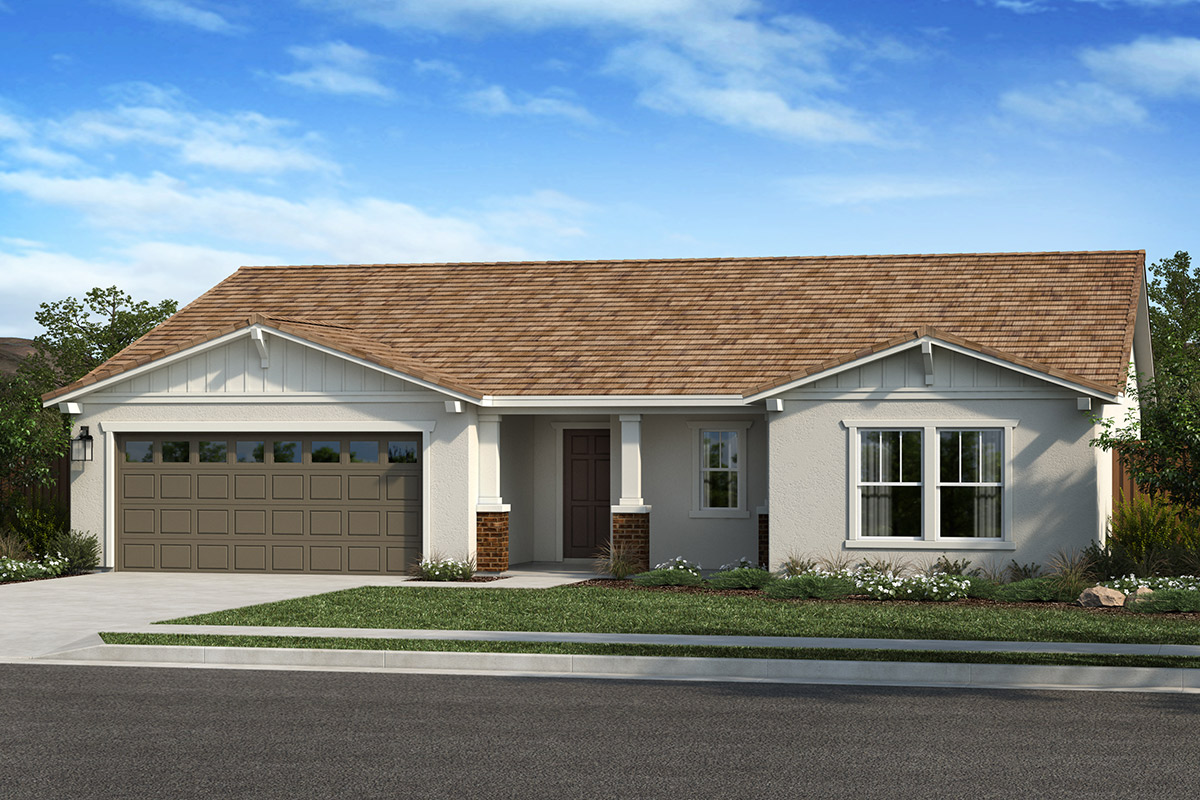 New Homes in Lincoln, CA - Elevation B