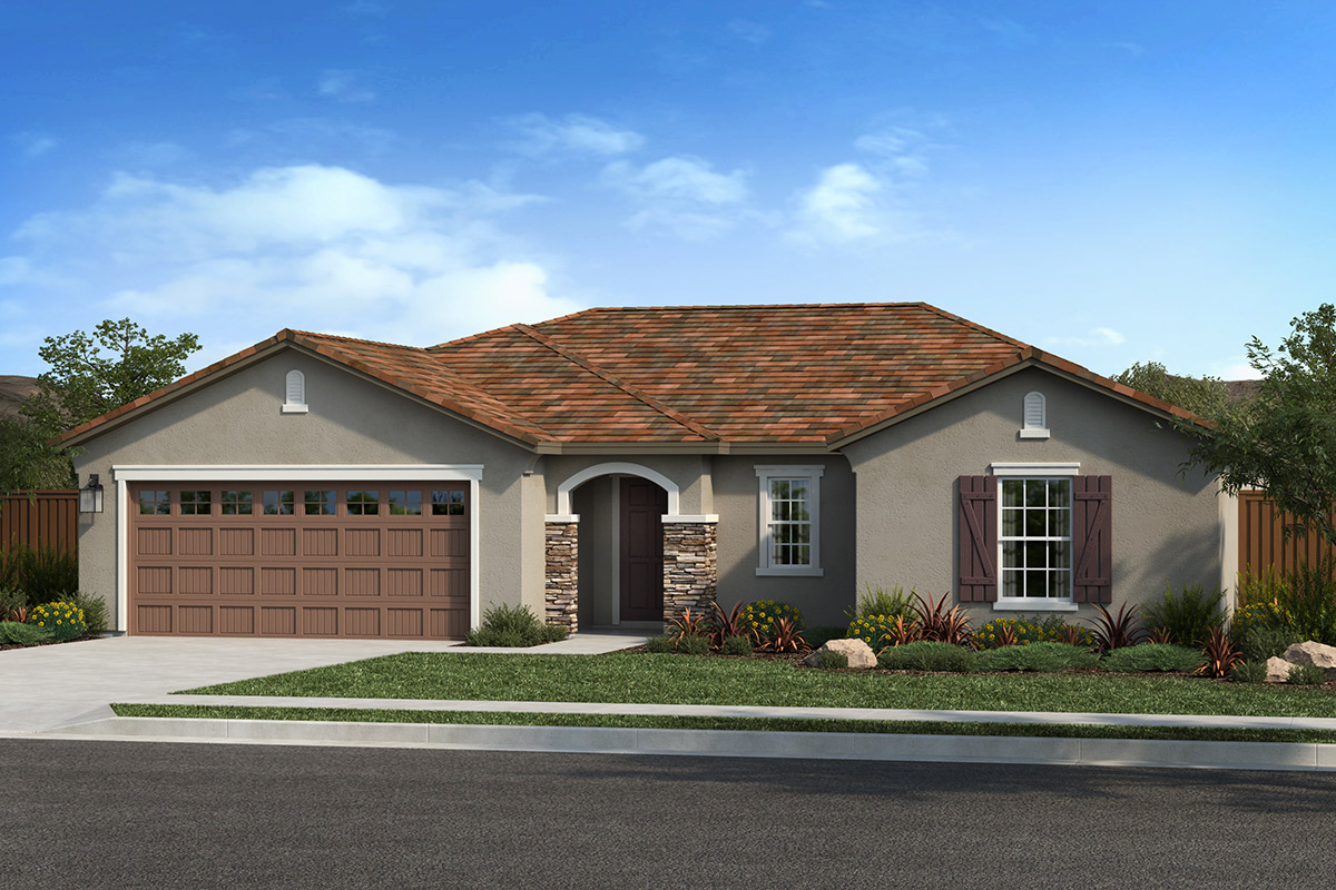 New Homes in Lincoln, CA - Elevation D
