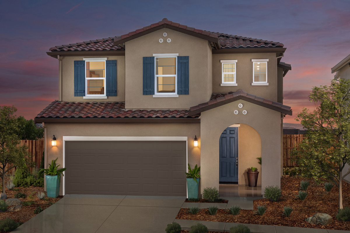 New Homes in Folsom, CA - Plan 1832 Modeled