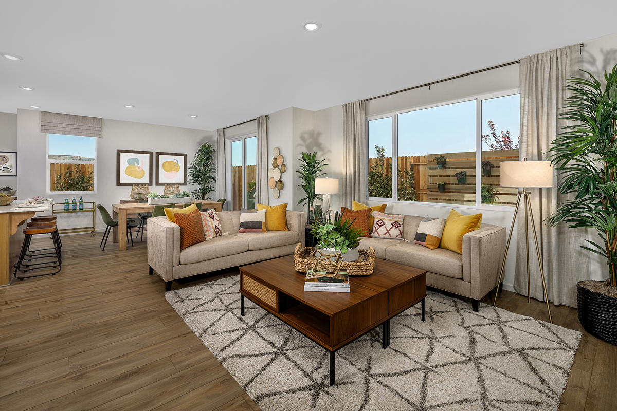 New Homes in Folsom, CA - Enclave at Folsom Ranch Plan 1832 Great Room