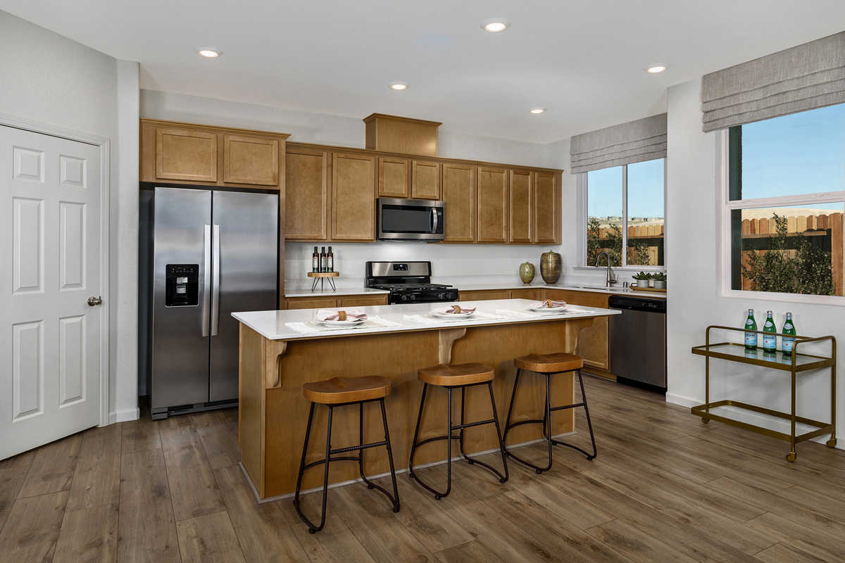 New Homes in Folsom, CA - Enclave at Folsom Ranch Plan 1832 Kitchen