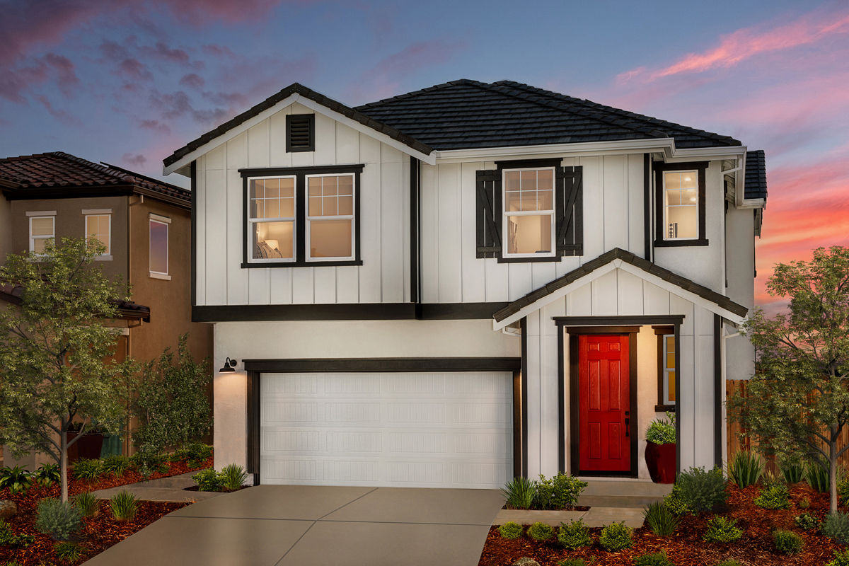 New Homes in Folsom, CA - Enclave at Folsom Ranch Plan 2102 Elevation C