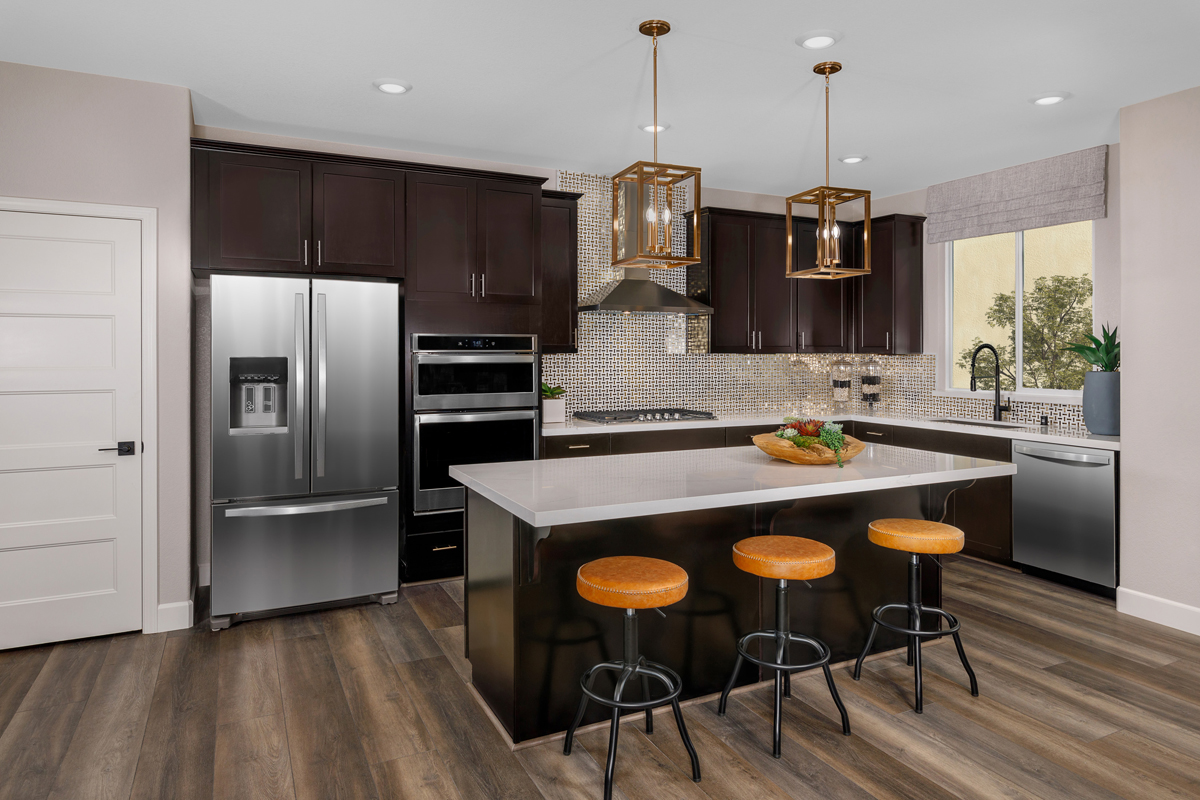 New Homes in Folsom, CA - Enclave at Folsom Ranch Plan 2102 Kitchen