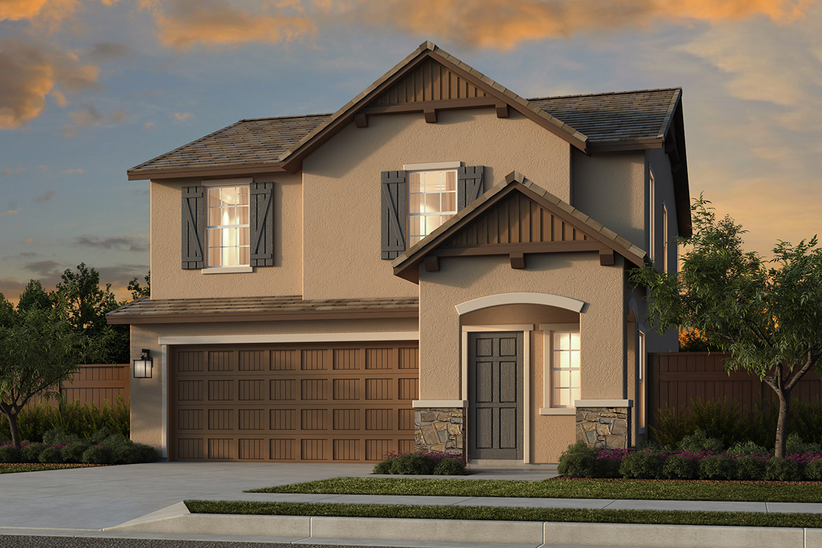 New Homes in Folsom, CA - Elevation D