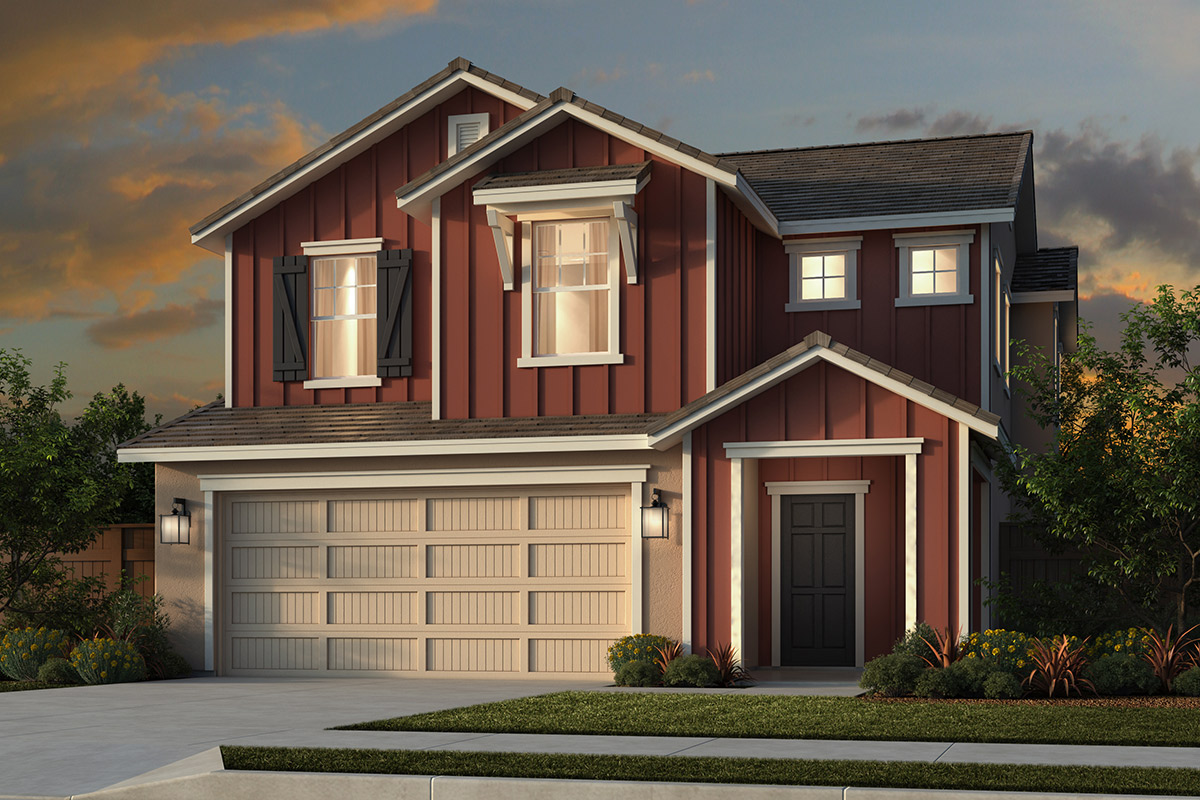 New Homes in Folsom, CA - Elevation C