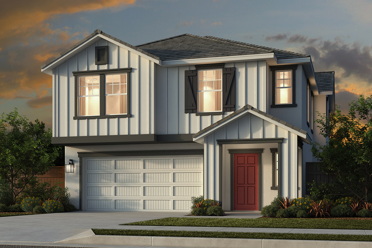 New Homes in Folsom, CA - Enclave at Folsom Ranch Plan 1202 Elevation C
