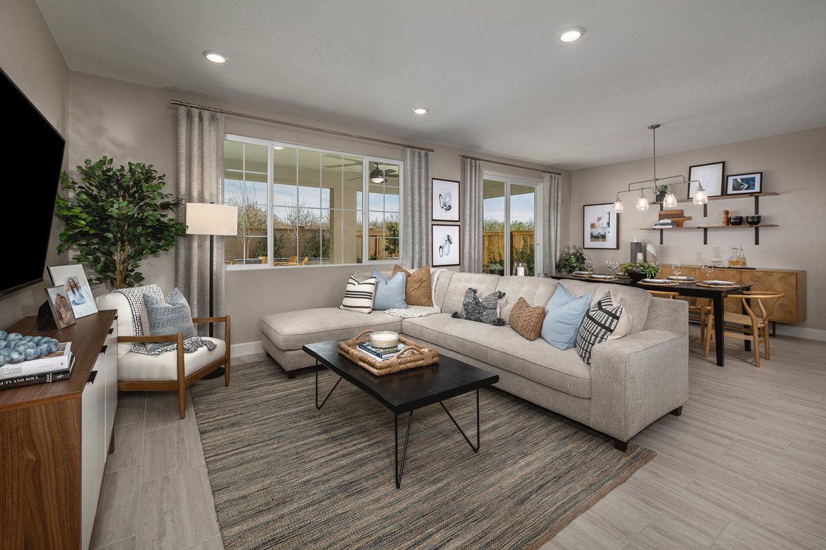 New Homes in Hughson, CA - Fieldstone Plan 1779 Great Room