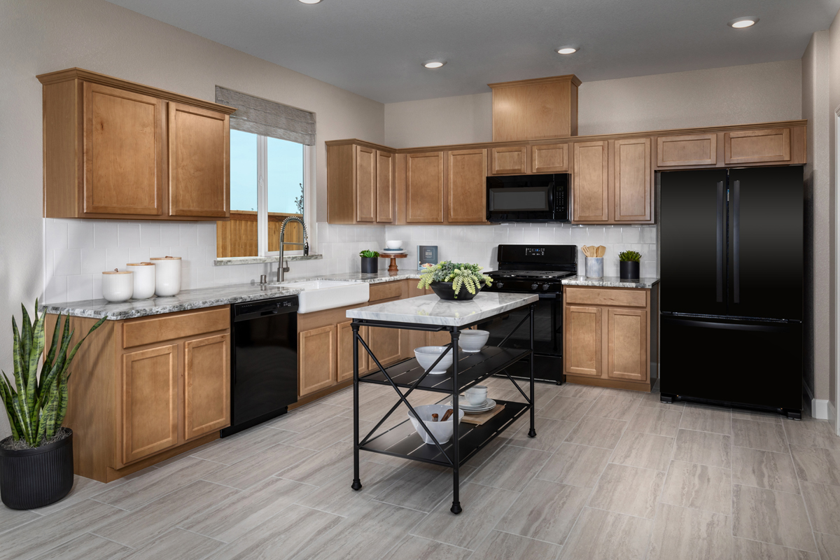 New Homes in Hughson, CA - Fieldstone Plan 1779 Kitchen