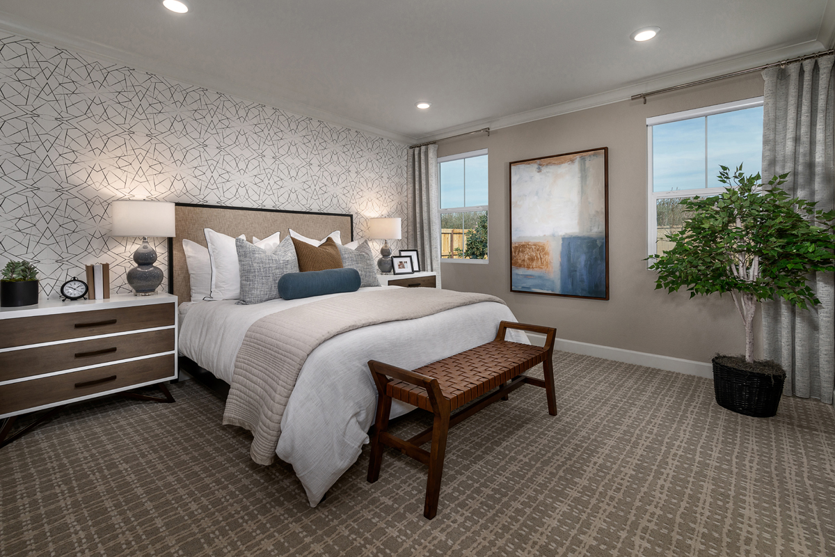 New Homes in Hughson, CA - Fieldstone Plan 1779 Master Bedroom