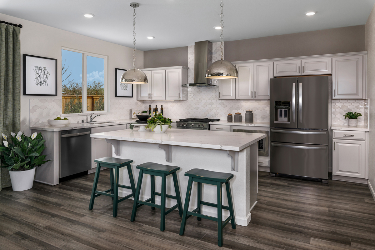 New Homes in Hughson, CA - Fieldstone Plan 1996 Kitchen