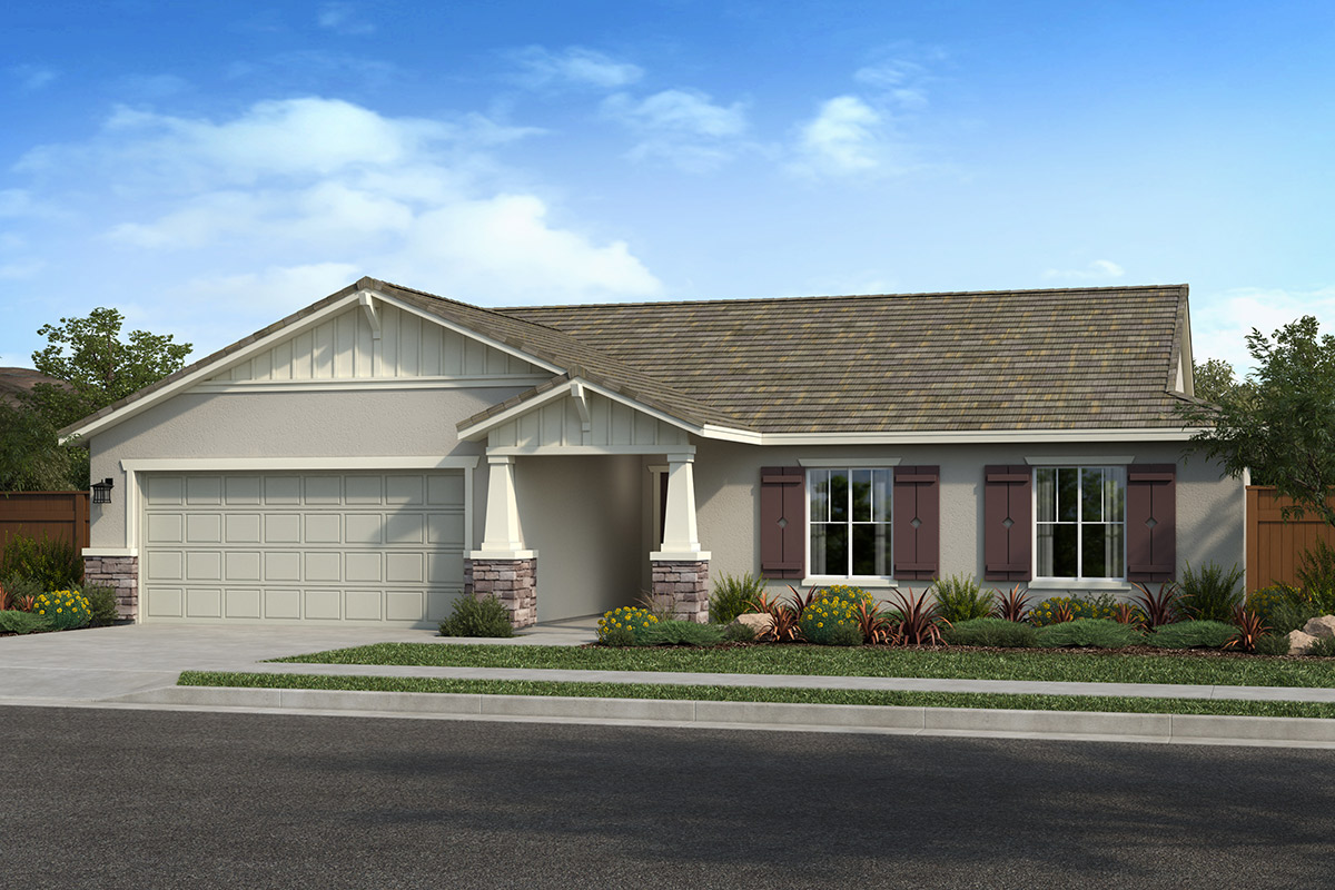 New Homes in Hughson, CA - Elevation B