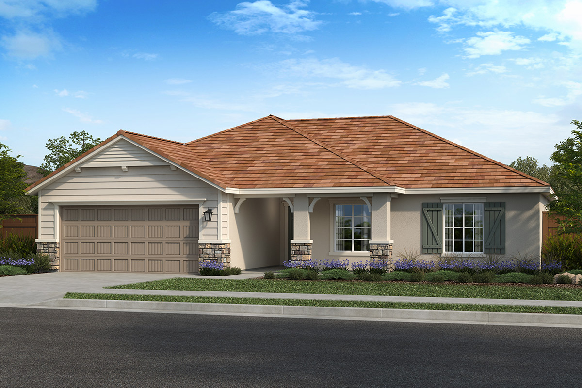 New Homes in Hughson, CA - Fieldstone Plan 1523 - Elevation D