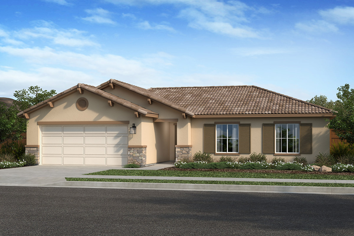 New Homes in Hughson, CA - Elevation E
