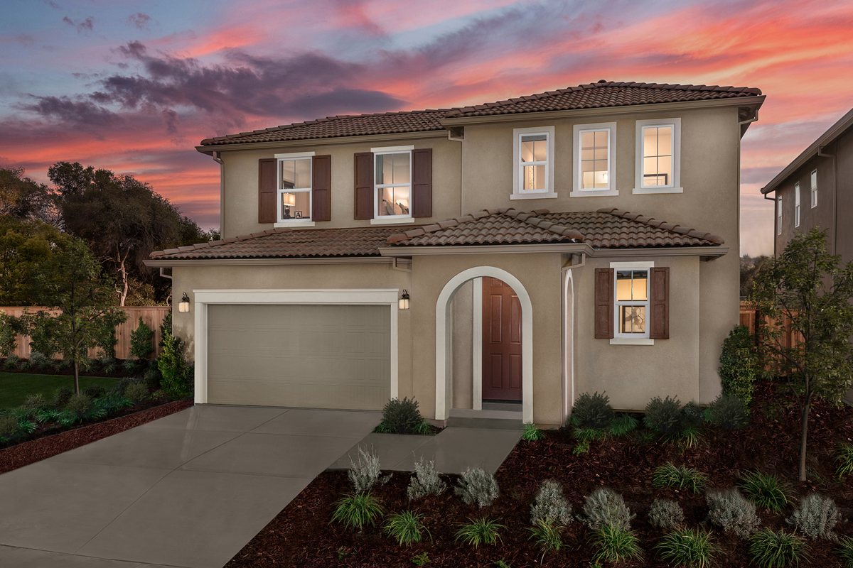 New Homes in Rocklin, CA - Plan 1644 Modeled