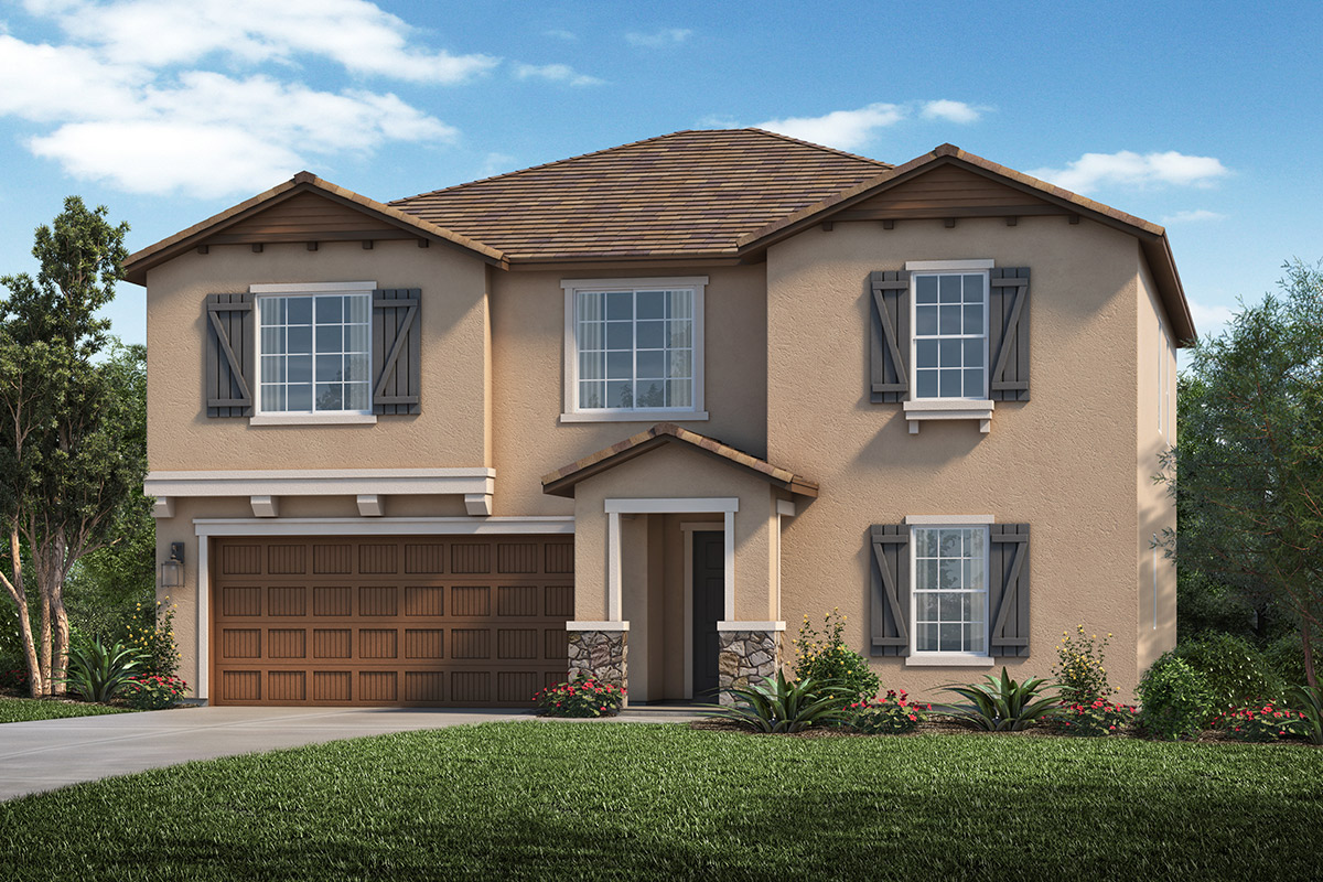 New Homes in Rocklin, CA - Elevation D