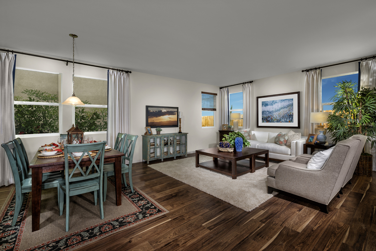 New Homes in Sacramento, CA - Montauk at The Hamptons Plan 3 - Great Room