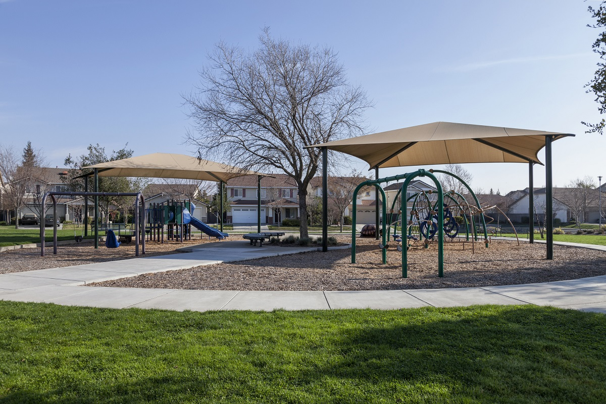 Amenity park at a KB Home community in Sacramento, CA