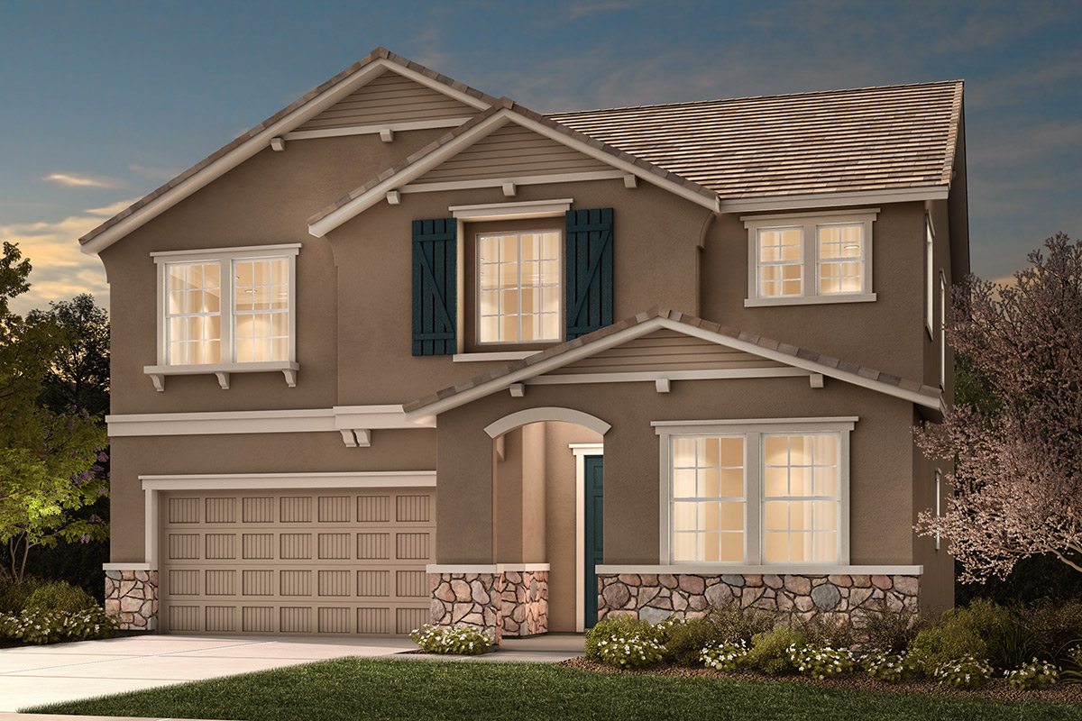 New Homes in Stockton, CA - Montevello Plan 2376 D
