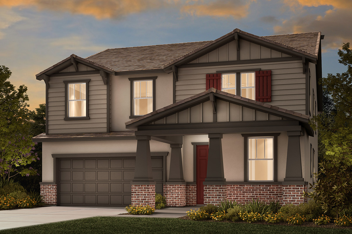 New Homes in Stockton, CA - Plan 3061 B